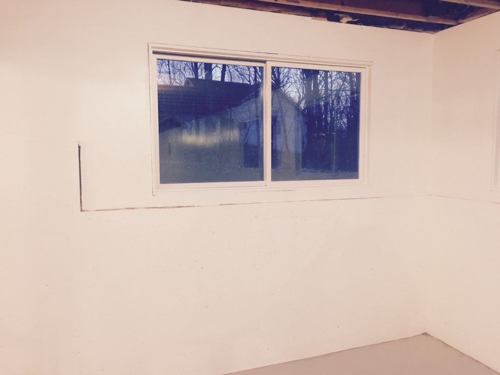 Painting basement walls with mold and mildew proof paint What do we call a picture painted on a wall